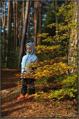 Herbstliches Kinder Portrait