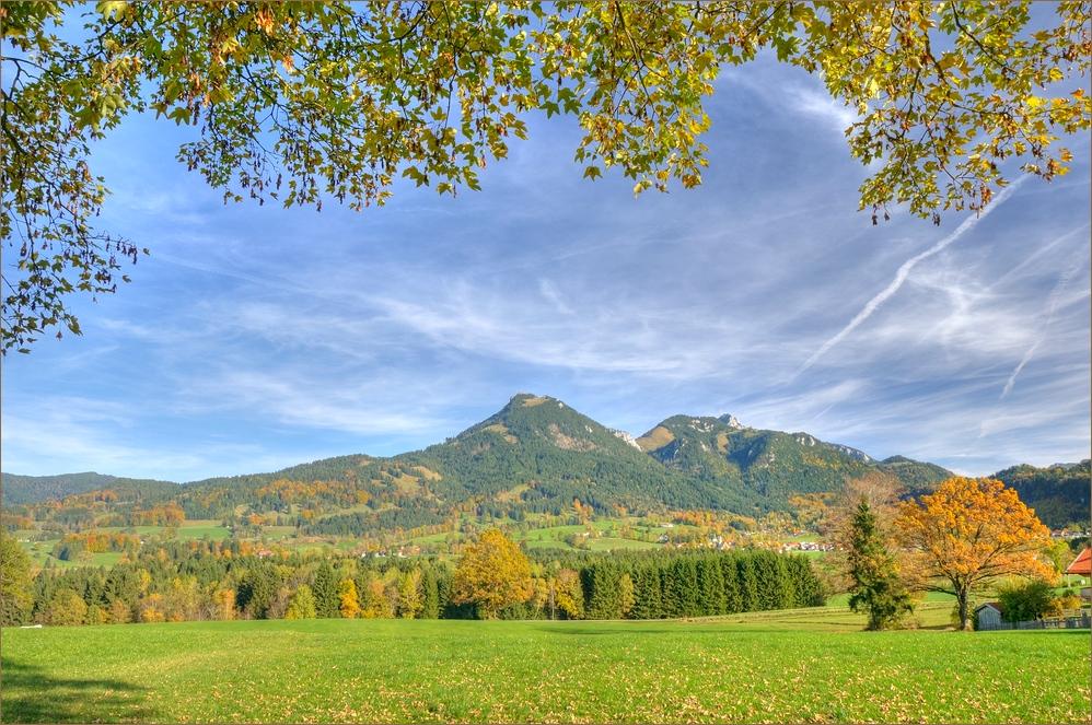 Herbstliches Leitzachtal
