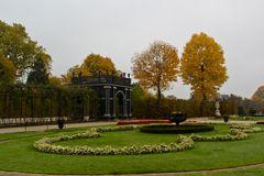 Herbstliches Schloss Schönbrunn