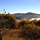 Herbstliches Spiel von Licht, Farben und Nebel...