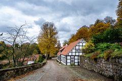 Herbstliches Tecklenburg