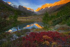 Herbstlichtzauber im Lötschental