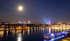 Herbstmesse, Vollmond, Basel