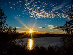 Herbstmorgen am Lappwaldsee