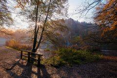 Herbstmorgen an den Externsteinen