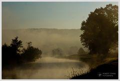 Herbstmorgen an der Mulde
