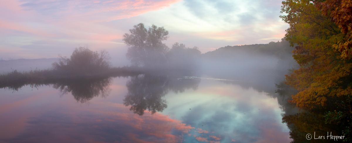 Herbstmorgen an der Ruhr