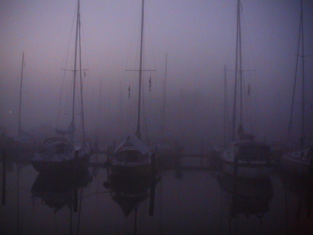 Herbstmorgen im Hafen