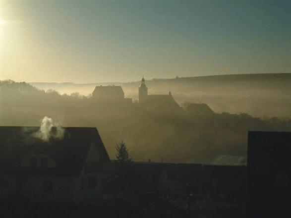 Herbstmorgen in Arnstein