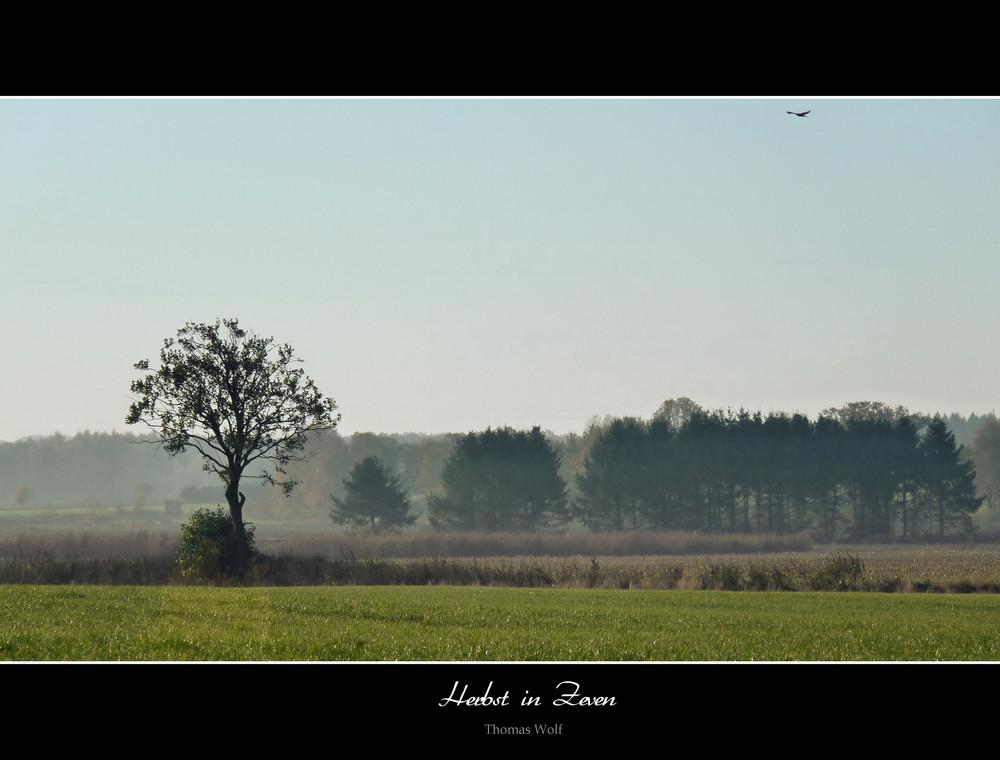 Herbstmorgen in Zeven