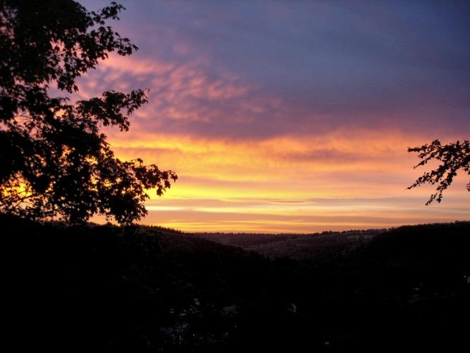 Herbstmorgen über Monschau