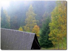 Herbstnebel im Zittauer Gebirge