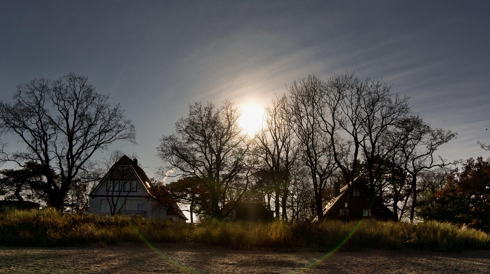 Herbstsonne an der Ostseeküste...