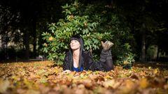 ...Herbstsonne geniesen...