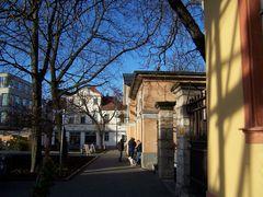 Herbstsonne in Weimar- Bauhaus-Museum