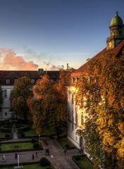 Herbstsonnenaufgang