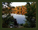 Herbstspaziergang am Teltowkanal...