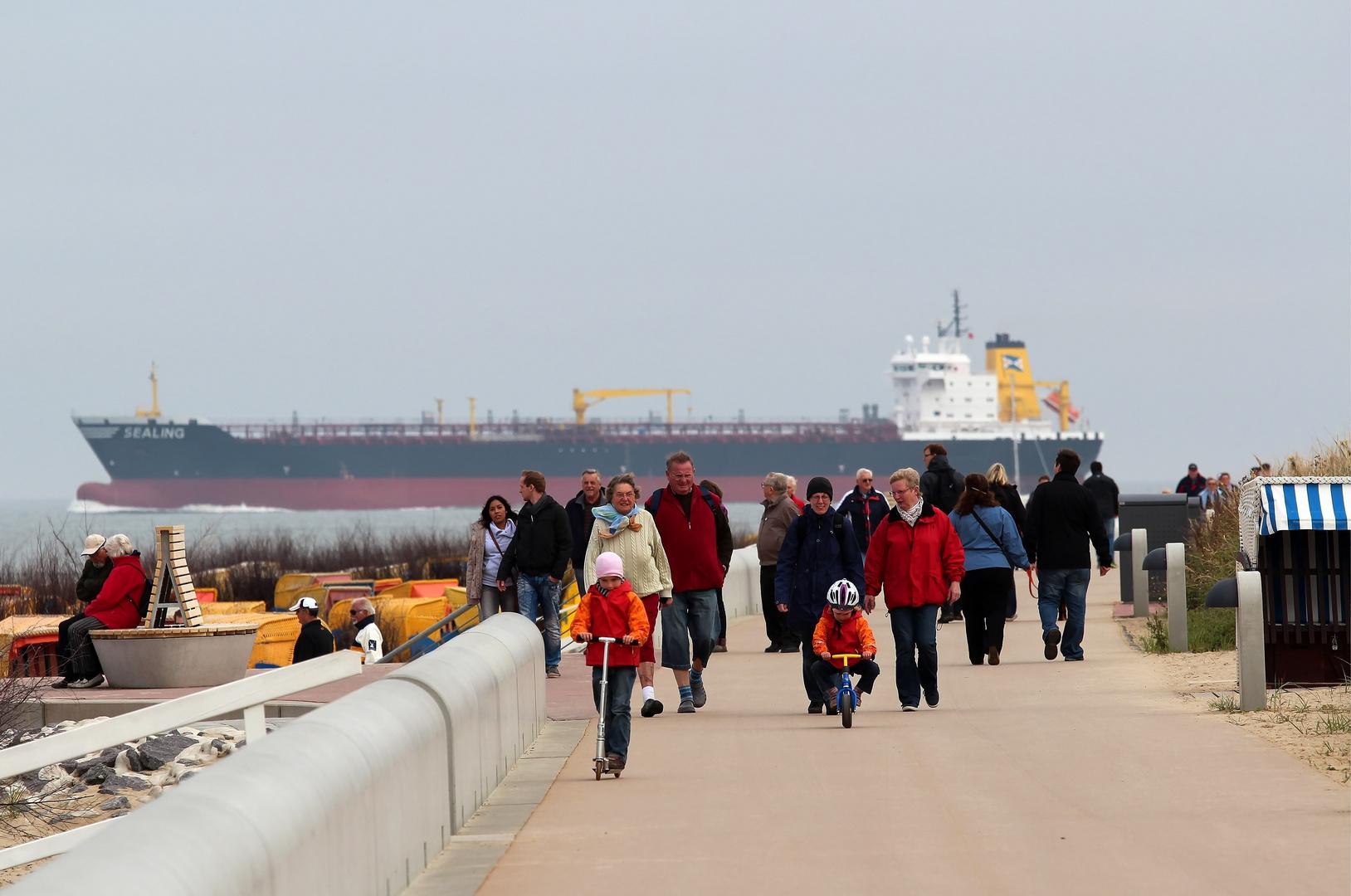 Herbstspaziergang an der Nordsee