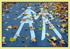 Herbstspaziergang  mal anders, 2