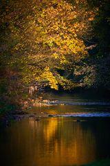 Herbststimmung am Fluß