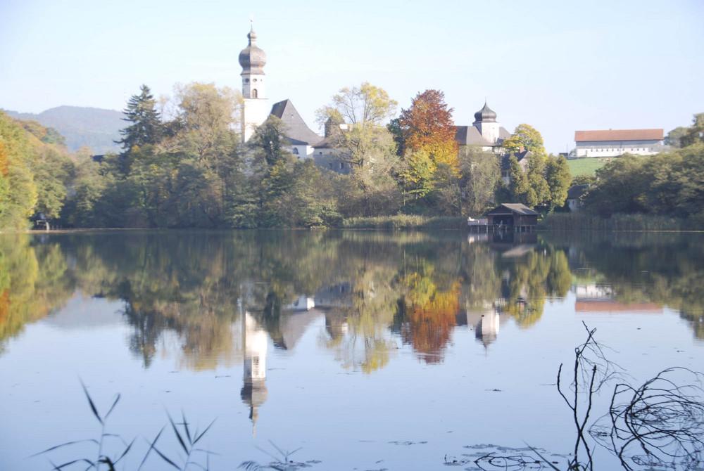 Herbststimmung am Höglwörther See