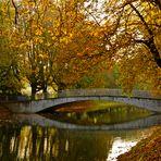 Herbststimmung am Kanal
