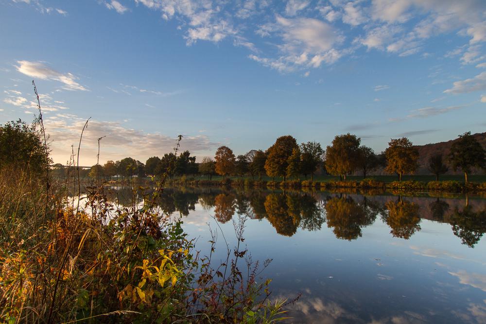 Herbststimmung an der Ruhr