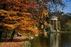 Herbststimmung im Nymphenburger Park in München
