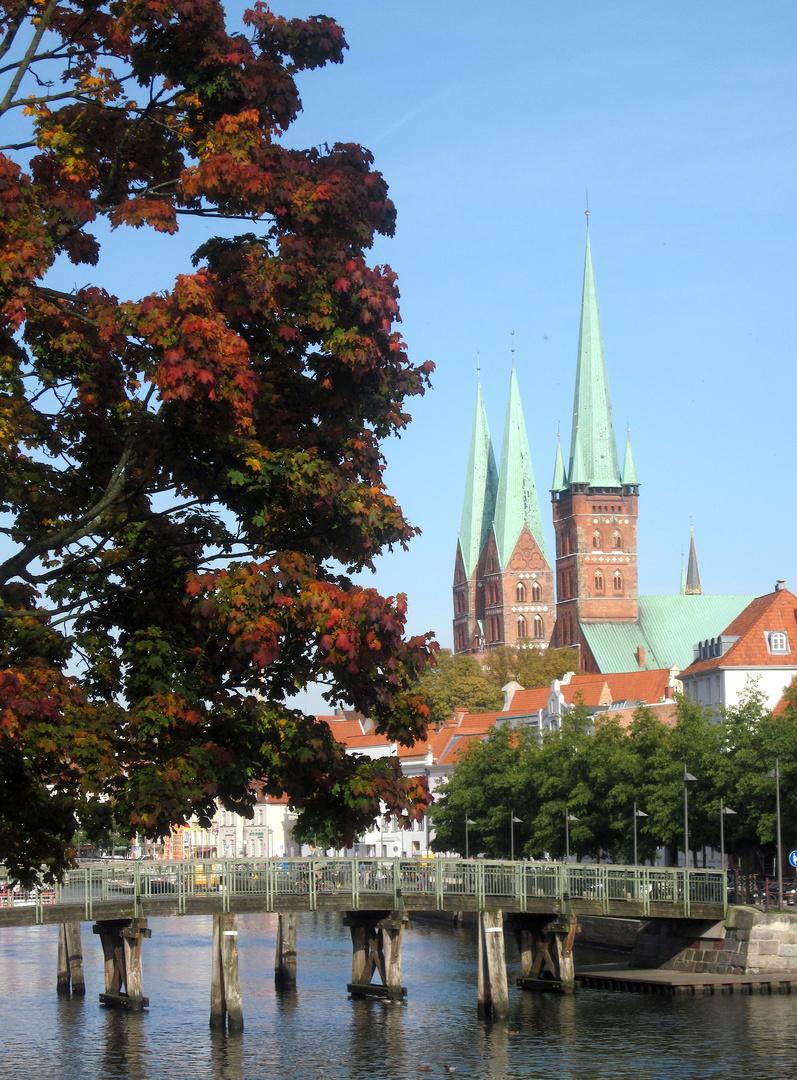 Herbststimmung in Lübeck