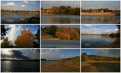 Herbststimmungen Offlumer See bei Neuenkirchen