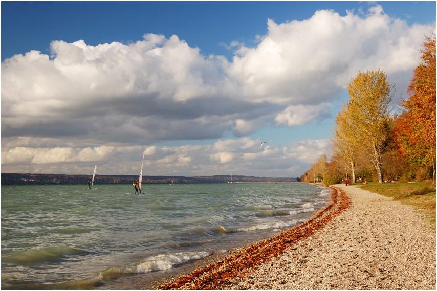 Herbststurm am Starnberger See