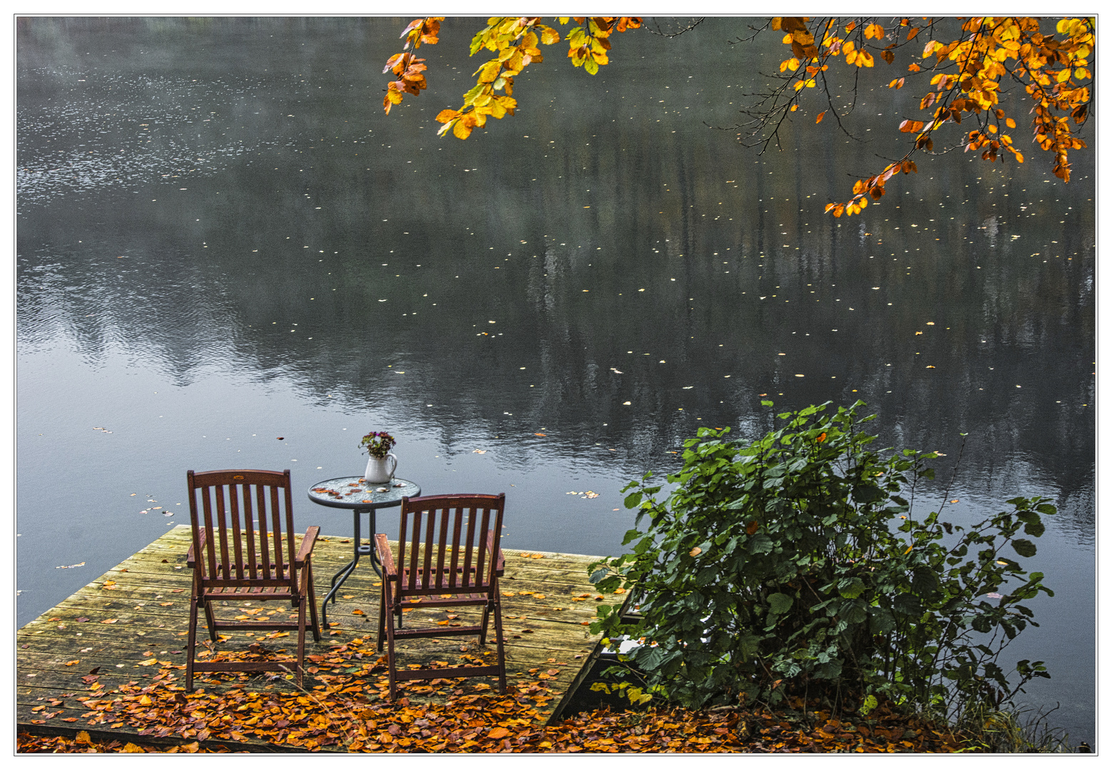 Herbsttag am See