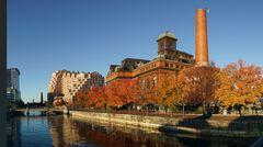 Herbsttag in Baltimore im November 2013