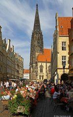 Herbsttagsgenuss auf dem Prinzipalmarkt zu Münster