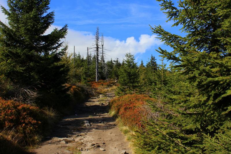 Herbstwandertag am 03.10.2012 im Isergebirge