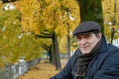 Herbstwetter an der Isar in München