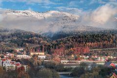 Herbstwinterbild