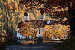 Herbstzauber auf St. Bartholomä