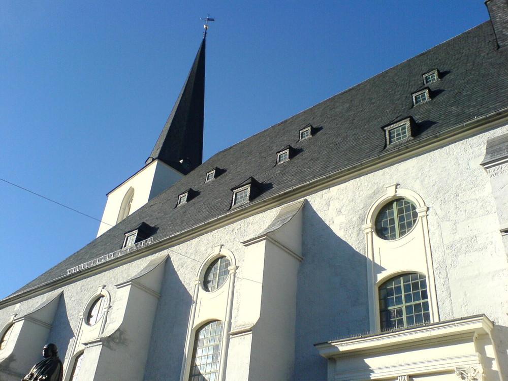 Herderkirche in Weimar- Februarsonne