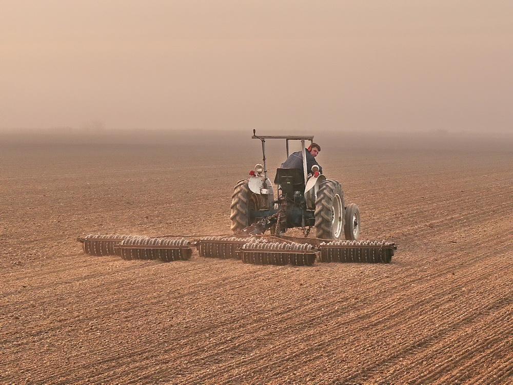 here goes the farmer