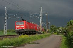 Heringen (Helme), 143 212-9, Mai 2013