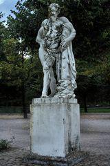 Herkules auf seine Keule gestützt
