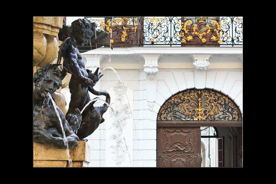 Herkules Brunnen in Augsburg 1
