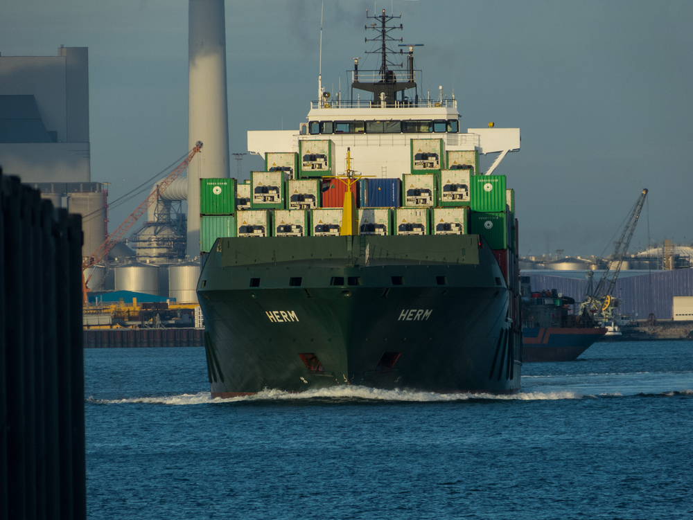 HERM, Container Ship / Rotterdam, 23.10.2013
