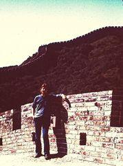 """Hermann auf der """"Großen Mauer"""" 1979"""