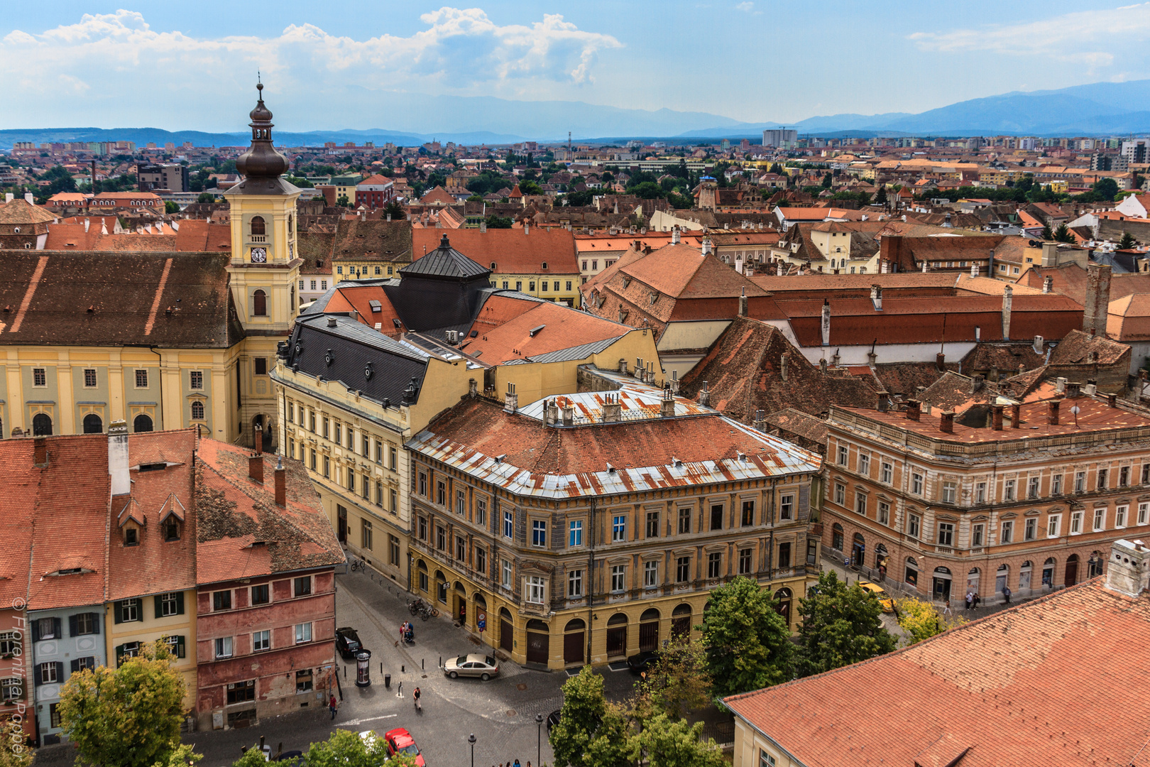 Hermannstadt (rumänisch Sibiu)