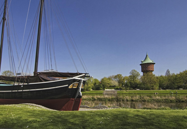 Hermine und Wasserturm