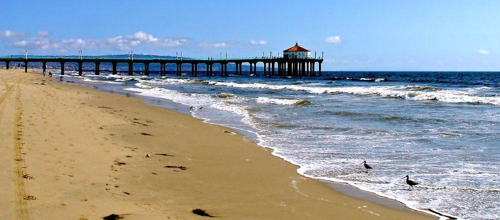 Hermosa Beach Seebrücke
