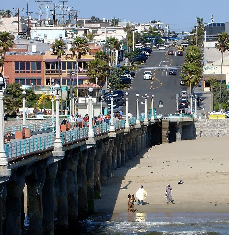 Hermosa Beach Shooting an der Seebrücke