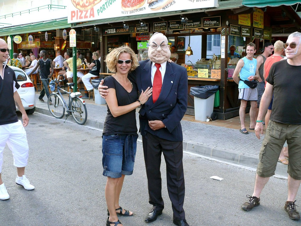 Herr Kohl zu besuch in EL ARENAL